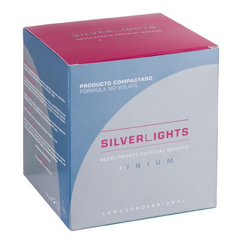 Lewex Pó descolorante Azul Silver Light 500Gramas