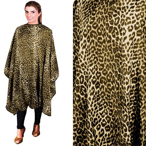 Penteador Corte Cabelos Leopardo 02502.61