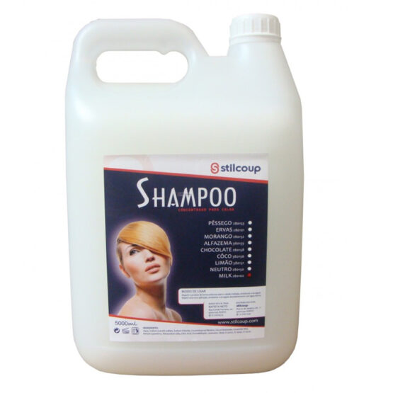 Shampoo Calha Rampa Milk 5000ml