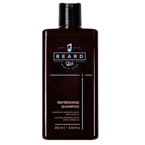 Shampoo Beard Club Barba e Cabelo Refrescante 250 ml