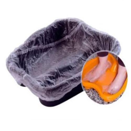 Protector Plástico Bacia Pedicure 100cm-50 Unidades