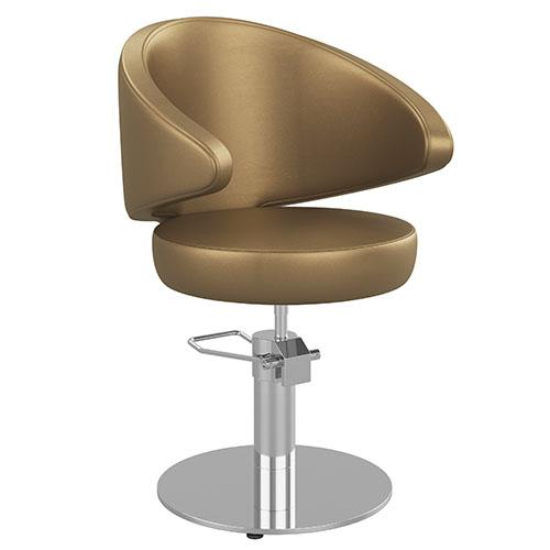 Cadeira Hidráulica Cabeleireiro Náutica