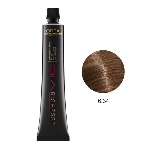 L'Oréal DiaRichesse Coloração Nº6.34 - 50ml
