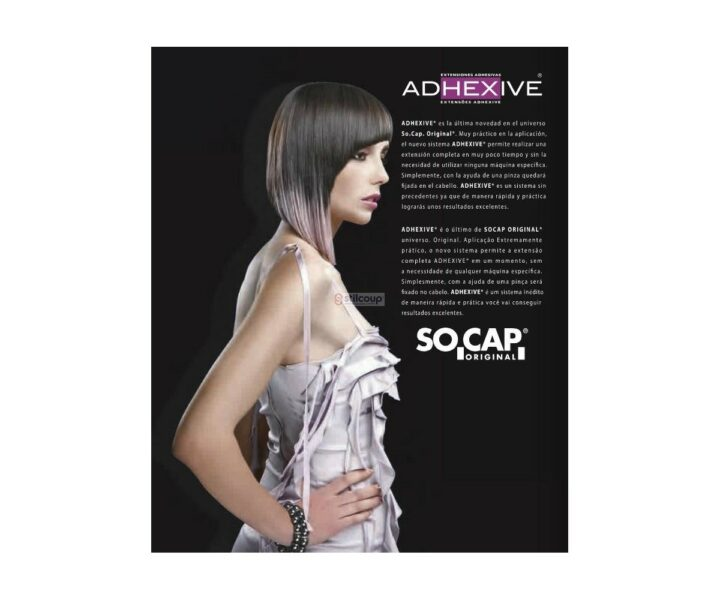 Extensões Termo-Adesivas cabelo NaturaL - 27