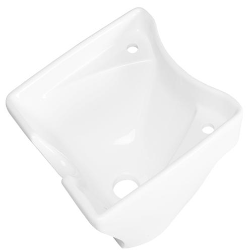 Bacia Cerâmica Branca Funda Rampa Lavagem L14