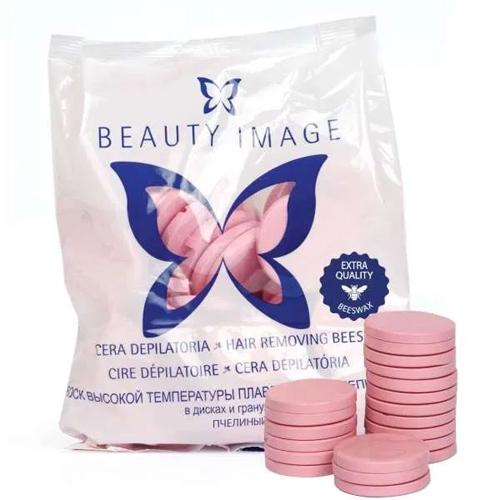 Beauty Image Cera Rosa Disco 1kg