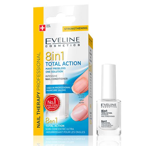 Eveline Nail 8em1 Regenerador Unhas 12ml