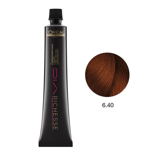 L'Oréal DiaRichesse Coloração Nº6.40 - 50ml