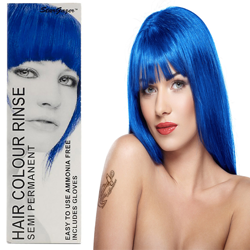 Stargazer Semi Permanente Hair Dye Royal Blue -70ml