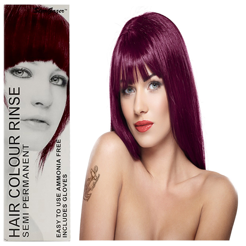 Stargazer Semi Permanente Hair Dye Eggplant -70ml