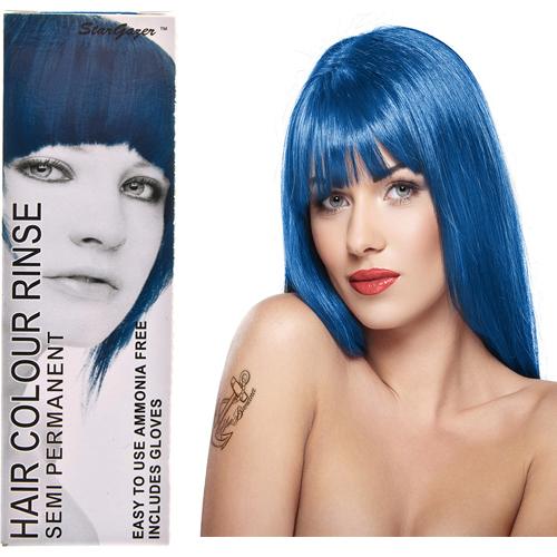 Stargazer Semi Permanente Hair Dye Azure Blue -70ml