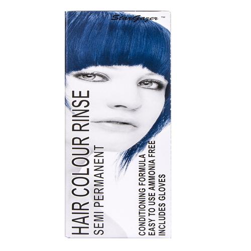 Stargazer Semi Permanente Hair Dye Blue Black -70ml