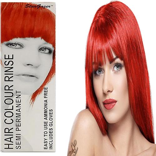Stargazer Semi Permanente Hair Dye Red -70ml