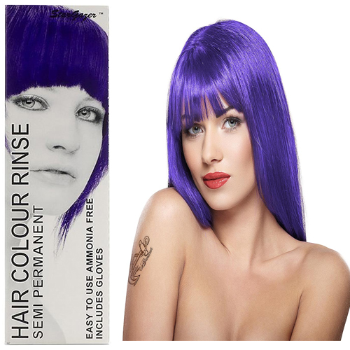Stargazer Semi Permanente Hair Dye Shocking Violet -70ml