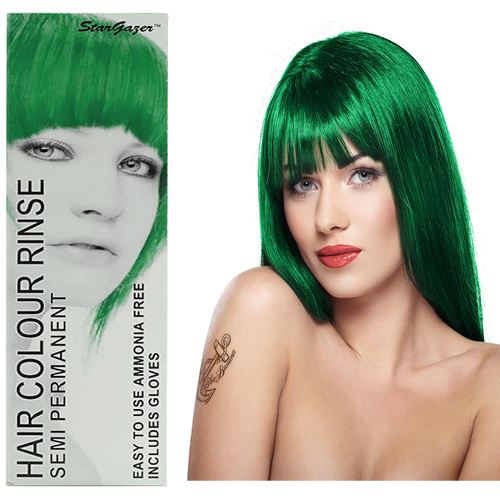 Stargazer Semi Permanente Hair Dye African Green -70ml