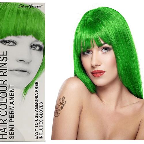 Stargazer Semi Permanente Hair Dye Green -70ml