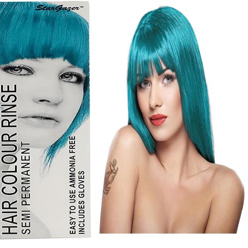 Stargazer Semi Permanente Hair Dye Turquoise -70ml