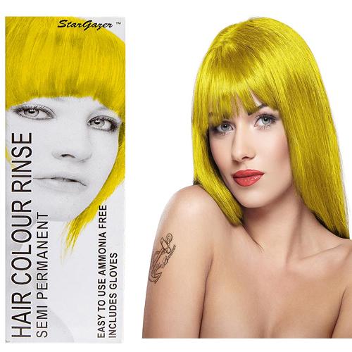 Stargazer Semi Permanente Hair Dye Yellow -70ml