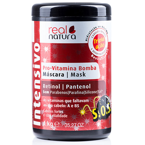 Real Natura Máscara Pro-Vitamina Bomba 1000ml