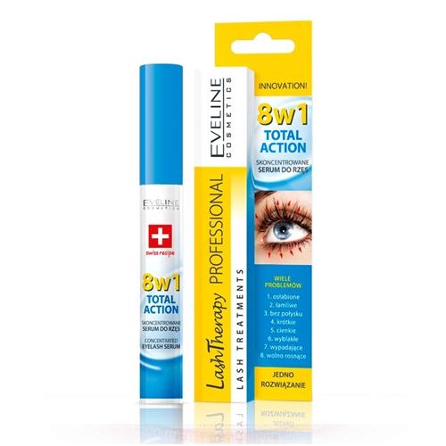 Eveline Therapy 8em1 Serum Concentrado Eyelash 10ml