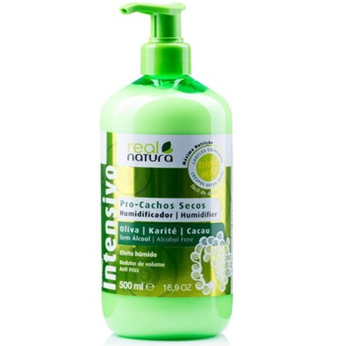 Real Natura Shampoo Pro Cachos Secos 500ml