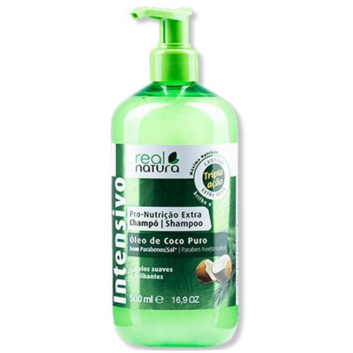 Real Natura Shampoo Pro-Nutricao Extra Coco 500ml