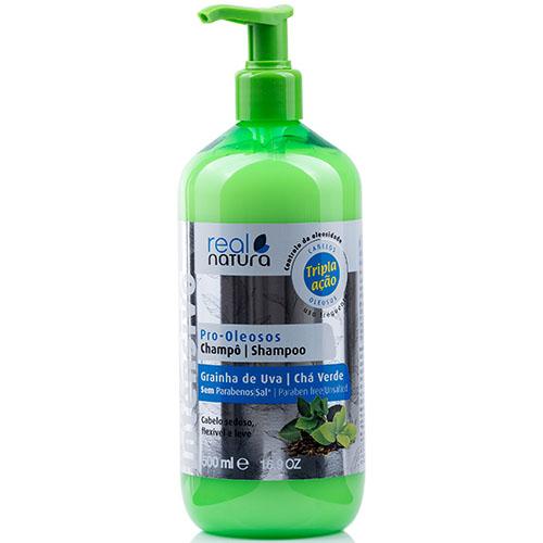 Real Natura Shampoo Pro Oleosos 500ml
