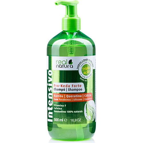 Real Natura shampo Anti queda Pro-Keda Forte 500ml