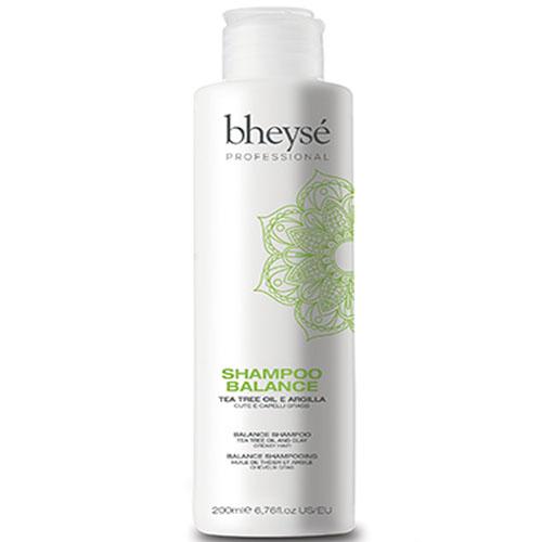 Bheyse Shampoo Balance Tea Tree Oil e Argila 200ml