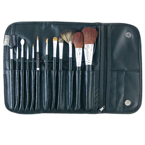 Bolsa Maquilhagem Com 12 Pincéis 02896