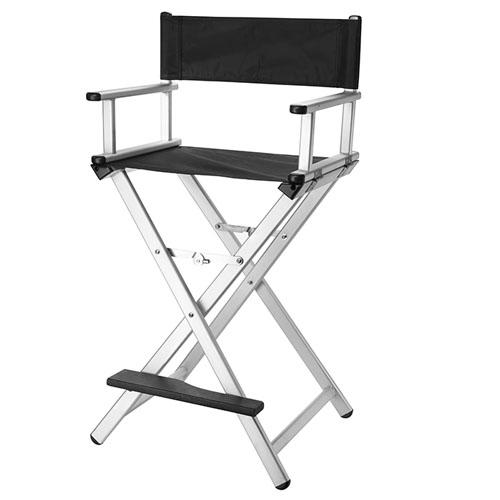Cadeira Maquilhagem Alumínio Prata 06156.54