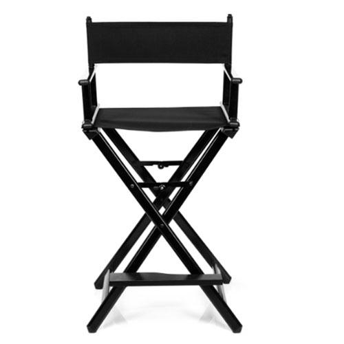 Cadeira Maquilhagem Alumínio Preta 06156/50