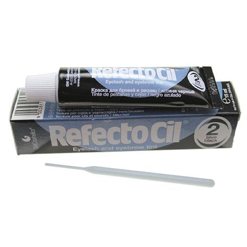 Coloração Sobrancelhas Refectocil Nº 2 Preto Azulado 15 ml
