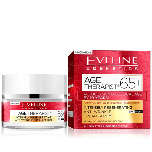 Eveline Age Therapist Creme Day Night +65 - 50ml