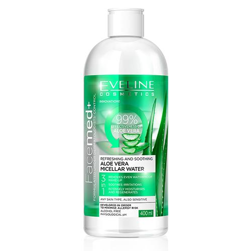 Eveline Facemed Água Micelar Aloe Vera - 400ml