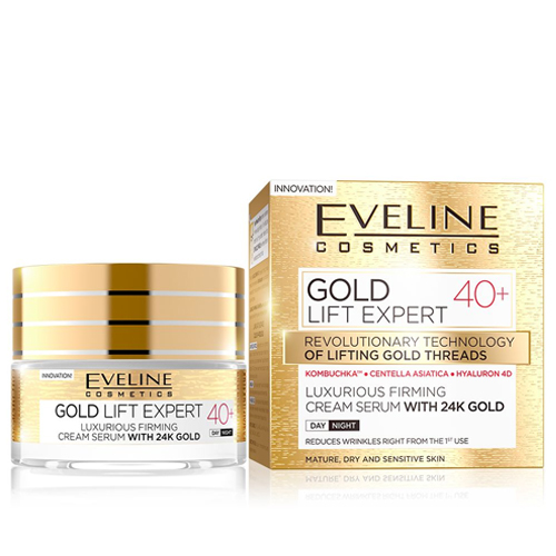 Eveline Gold Lift Expert Creme Rejuvenescimento +40 - 50ml