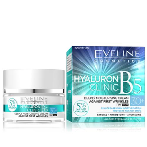 Eveline Hyaluron Creme Anti-Rugas 30+ Day Night - 50ml