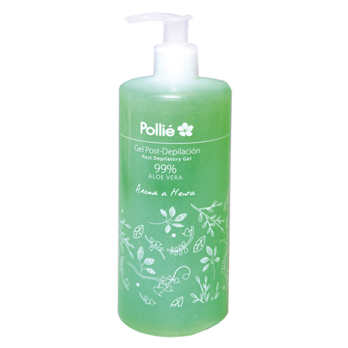 Gel Pós-Depilatório Aroma Aloe Vera 500ml