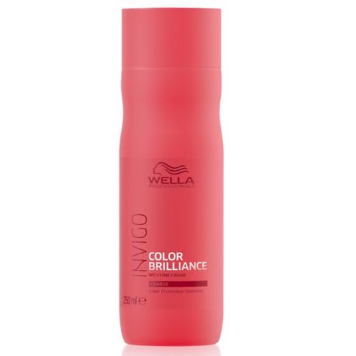 Wella Color Brilliance Shampoo Cabelos Grossos 250ml