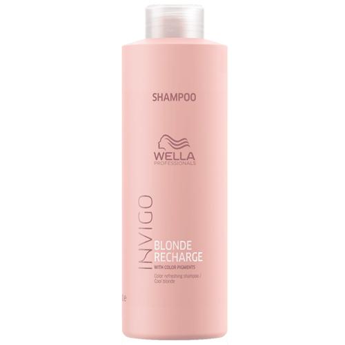 Wella Invigo Blonde Recharge Shampoo 1000ml