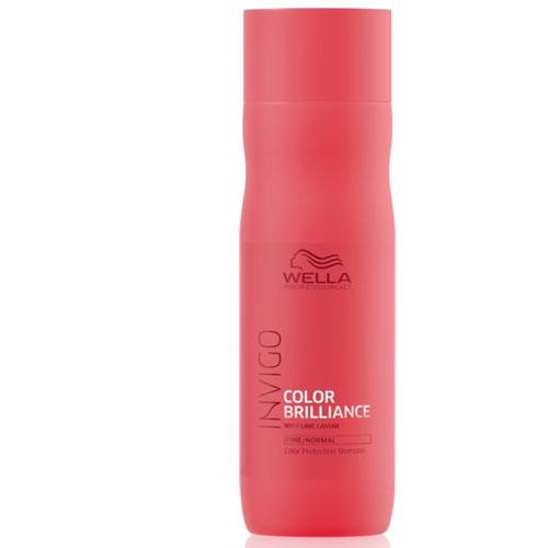 Wella Invigo Color Brilliance Shampoo Cabelos Finos 250ml