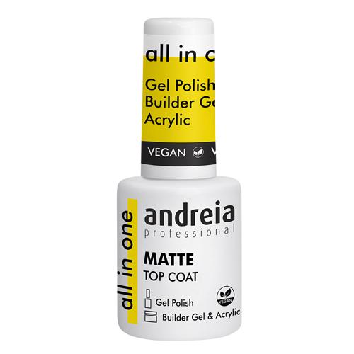 Andreia All In One Matte Top Coat - 10.5ml