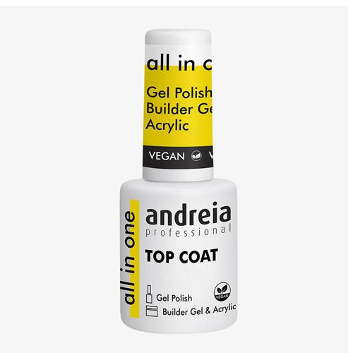 Andreia Verniz All In One Top Coat - 10.5ml