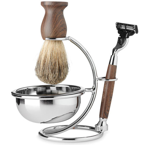 Kit de Barbear Clássico para Homem