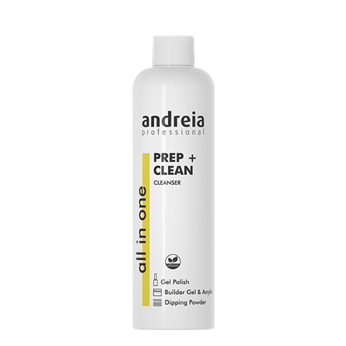 Andreia All In One Pret + Clean Removedor Verniz –- 250ml