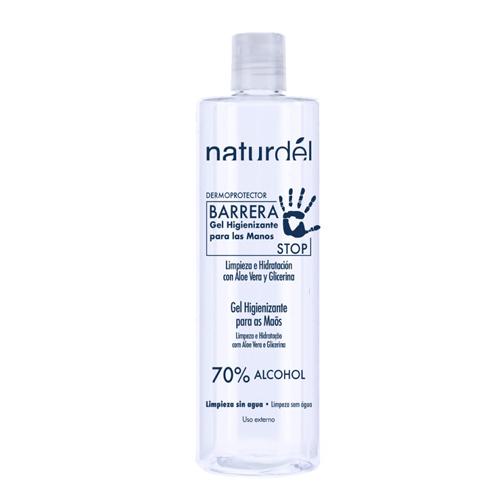 Álcool Gel Higienizante Desinfectante 70% Antisséptico 500ml
