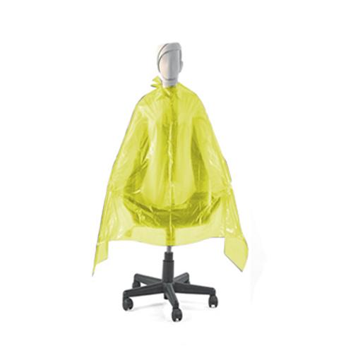 Penteador Descartável Plástico Amarelo Tinta 20 Unidades