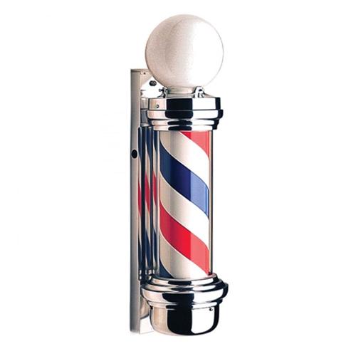 Polo Iluminado Rotativo de Barbearia 70cm