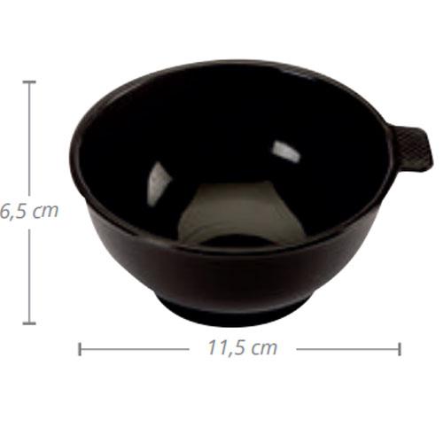 Taça Para Tintas Pequena Preta 00654.50