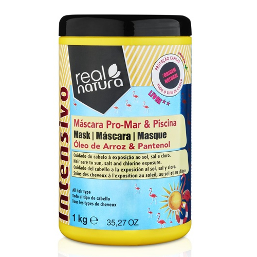 Real Natura Máscara Pro-Mar & Piscina 1000ml